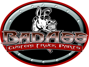 Bad Ass Logo Oval